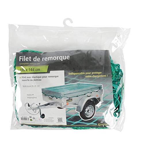 TURBOCAR 641977 Filet de Protection de Remorque, 155 x 105 x 16 cm