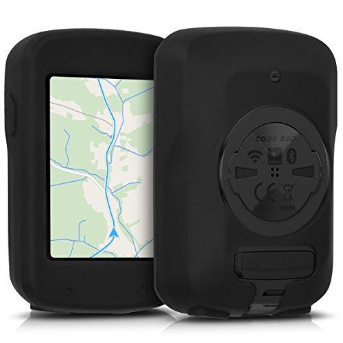 kwmobile Carcasa Compatible con Garmin Edge 820 / Explore 820 - Funda de Silicona para GPS - Cover en Negro