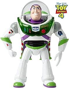 Mattel Disney Toy Story 4-Buzz Lightyear ¡hasta el infinito y más allá, juguetes niños +3 años GGH41, multicolor, Talla Única