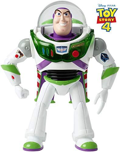 Mattel Disney Toy Story 4-Buzz Lightyear ¡hasta el infinito y más allá, juguetes niños +3 años, multicolor GGH41
