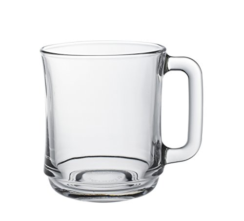 Duralex - Mug Empilable 31Cl Transparent Lys - Lot de 6