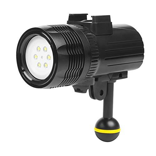 Disparar a Prueba de Agua 60 m de luz de Buceo Foco de Buceo luz de Relleno Luz de la fotografía Destacar Linterna de Buceo al Aire Libre Reflector para Accesorios GOPRO