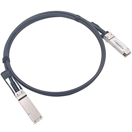 2M QSFP+ DAC Twinax Cable, Wiitek 40GbE QSFP+ Direct Attach Copper...
