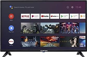 Sceptre Android TV 32-inch Smart LED HD TV Google Assistant Chromecast Bluetooth Remote, Machine Black 2020 (A322BV-SRC)