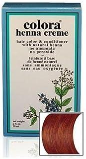 Natural Henna Hair Coloring Cream, Chestnut; 2floz