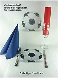 Amazon.es: De Futbol - Manteles y centros de mesa / Artículos para fiestas para niños: Hogar y cocina