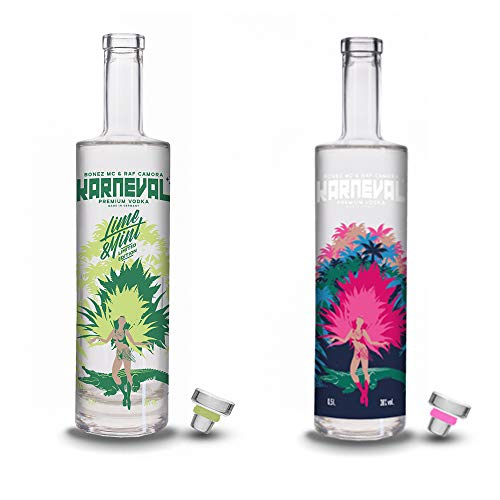 Karneval Vodka Paket - Karneval Vodka Original & Sonderedition Lime & Mint -