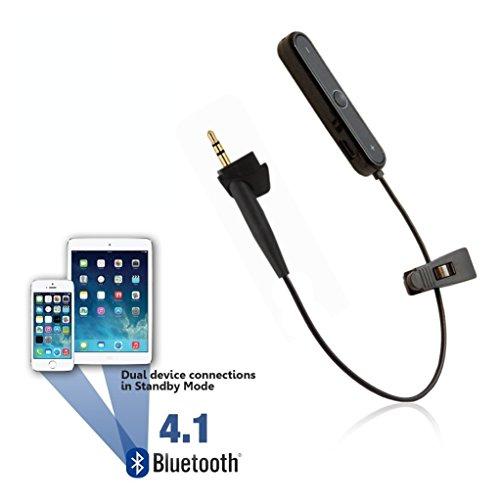 REYTID Wireless Bluetooth Adapter Converter Cavo Compatibile con Bose Around-Ear 2 / AE2 / AE2i & AE2w Cuffie - Converti cablato in Wireless!