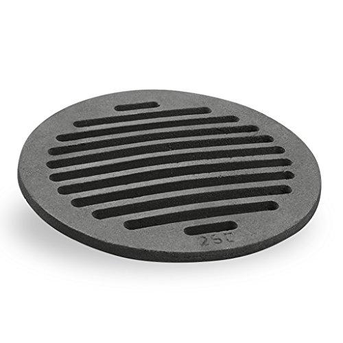Grille en fonte ronde 25 cm