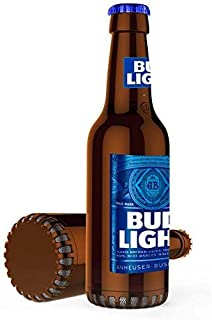 Budlight Bluetooth Bottle Speaker Authentic Design Wireless Bud Light Blue Speaker, Loud Audio Beer Speaker- BudLight Blue