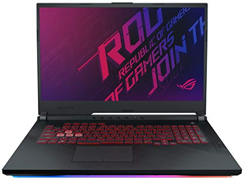 "XPC ROG Strix G GL731 Gamer Notebook (Intel 9th Gen i7-9750H, 16GB RAM, 512GB NVMe SSD, GTX 1660 Ti 6GB, 17.3"" Full HD 144Hz 3ms, Windows 10) Gaming Laptop Computer PC"