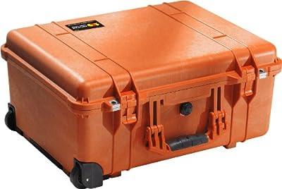 Pelican 1560 Case With Foam (Orange)