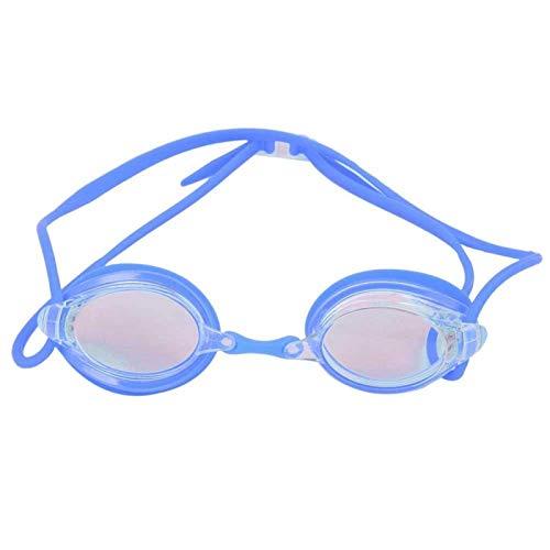 DAUERHAFT Equipo de natación con Vista subacuática súper Amplia Gafas de natación, para Deportes acuáticos, para Mujeres(YG07 Blue)
