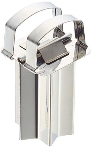 Städter Zimtstern Durchmesser 4 cm, Edelstahl, Silber, 30 x 4 x 30 cm