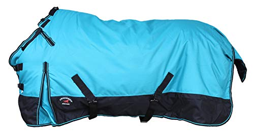 CHALLENGER 78' 1200D Turnout Waterproof Horse Winter Blanket Heavy 511