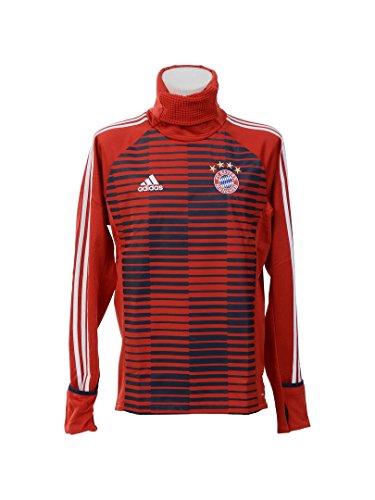 adidas Herren Fc Bayern München Sweatshirt, Fcbtru/Conavy, L