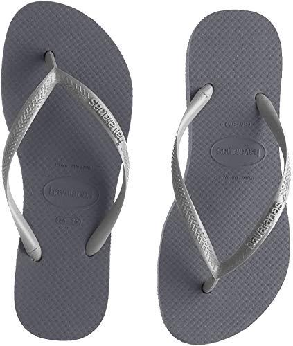 Havaianas Damen Slim Flatform Zehentrenner, Grau (Steel Grey 5178), 39/40 EU