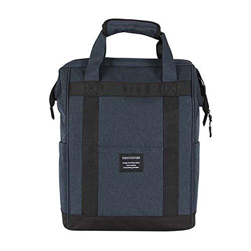 AKT Sac à Dos Thermique pour Pique-Nique 20L Sac Isotherme Portable Etanche Ice Thermo Box pour Camping Voyage,Blue