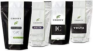 Choffy, Premium Variety Set, Brewed Chocolate, Cocoa, Medium, Dark Roasts - Four 12oz. Bags
