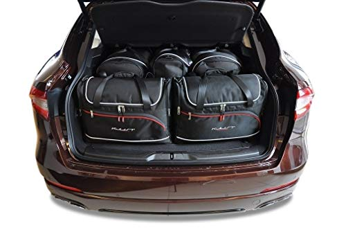 KJUST Dedizierte Reisetaschen 5 STK Set kompatibel mit Maserati Levante I 2016 -
