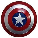 ABDOMINAL WHEEL Avengers Escudo del Capitán América,25Cm Escudo El Plastico,Escudo de Capitán América para Niño,Accesorio Disfraz de Adulto