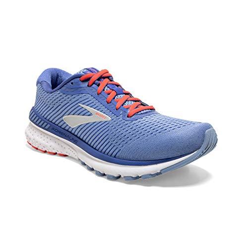 Brooks Adrenaline GTS 20, Zapatillas para Correr para Mujer, Bel Air Azul Coral Plata, 37.5 EU