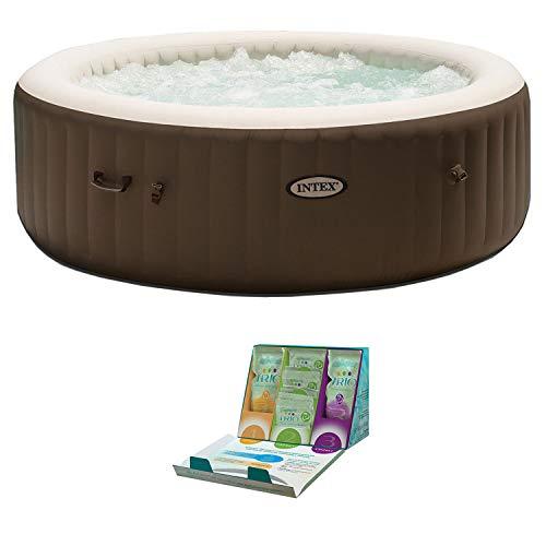 Intex PureSpa 6 Person Inflatable Hot Tub +...