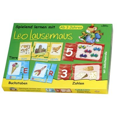 Lingoli 49664 - Lingoli - Spielend Lernen mit Leo Lausemaus