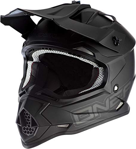 Oneal 2SRS Youth Helmet Flat Black Helm