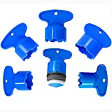 Cache Faucet Aerator Keys Faucet Aerator Removal Wrench Tools Cache Aerators for M 16.5,18.5,21.5,22.5,24 (5 Size)