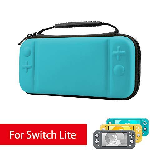 AFAITH Custodia Protettiva per Nintendo Switch Lite, Kit di Accessori per Nintendo Switch più Spazio per 8 Cartucce, Caricabatteria Originale e altri Accessori,Grigio