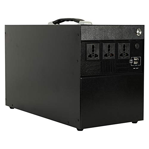 Generatore Portatile Power Inverter 1425Wh 400000mAh Batteria Ricaricabile Alimentazione di Emergenza, Caricato dal Pannello Solare Presa Auto a Muro per Campeggio, CPAP Backup di Emergenza Batte