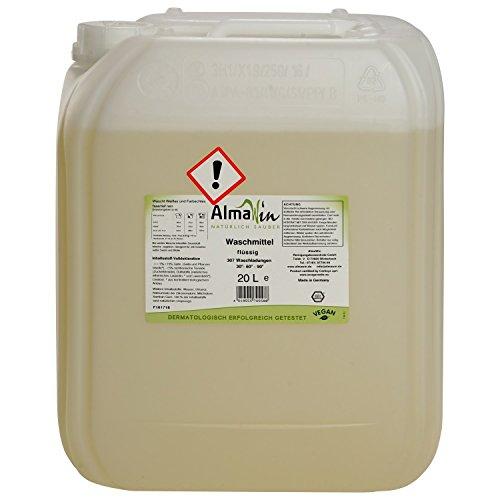 ALMAWIN Flüssiges Waschmittel 20 Liter für ca. 306 Waschgänge