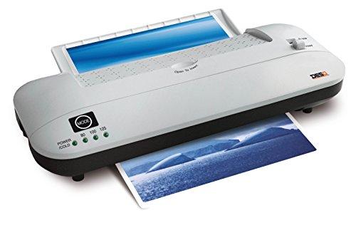 Desq 70245laminación rmaschinen High Speed patentada Función de retroceso, 500mm/min, Color blanco