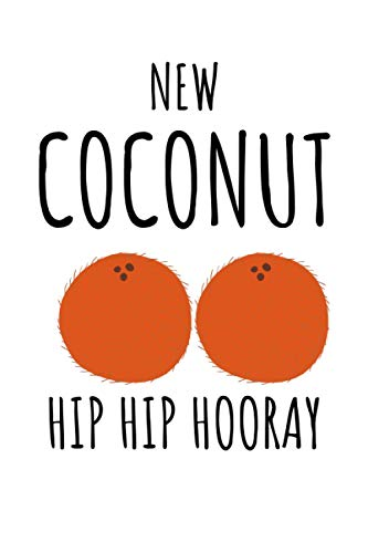 NEW COCONUT HIP HIP HOORAY: Funny New Boob Job, Breast Enlargement/Reduction Surgery, Breast Implants Surgery, Mastectomy Gift or Girlfriend, Women Friends, Wife