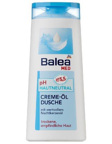Balea Med pH-hautneutral Cremeöl-Dusche, 3er Pack (3 x 300 ml)