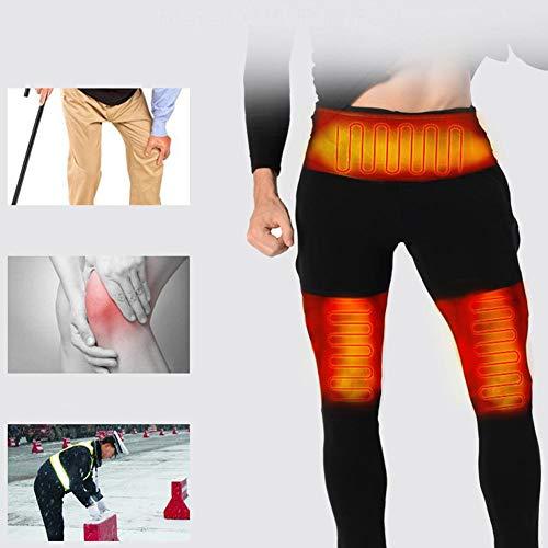 Sliveal Unterwäsche Isolierte Heizung Unterwäsche Verstellbare Aufladung Beheizte Kohlefaserhose Für Männer Und Frauen Beheizte Kleidung Für Männer Und Frauen