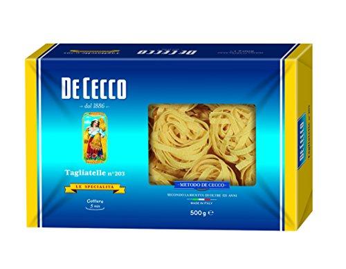 3x De Cecco Nudeln 'Tagliatelle' n.203, 500 g