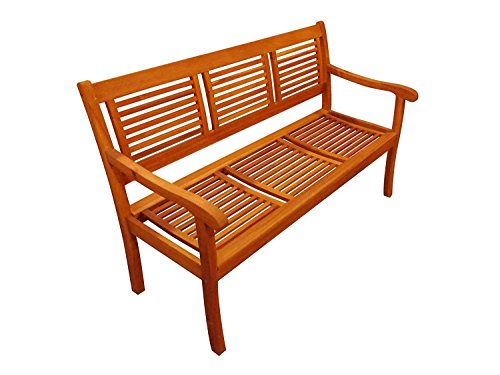 SAM 3-Sitzer Gartenbank Cordoba, 150 cm, Akazie Holz-Bank