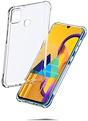 Buyfeb Transparent Tecno Spark 6 Air Soft Mobile Plain Back Case Cover Compatible For Tecno Spark 6 Air