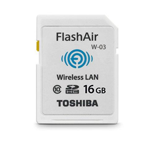 Toshiba FlashAir W-03 SDHC 16GB Class 10 Speicherkarte