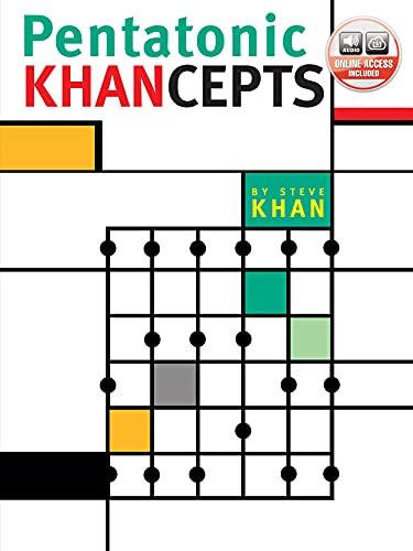 Pentatonic Khancepts: Book & Online Audio (GUITARE)