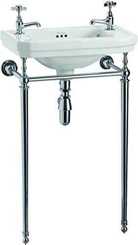 Burlington Viktorianisches Waschbecken mit Waschbeckenständer, 51 cm