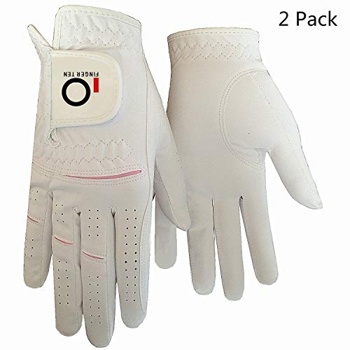 FINGER TEN Gants De Golf Femme Paire de Valeur ou Lot De 2,...