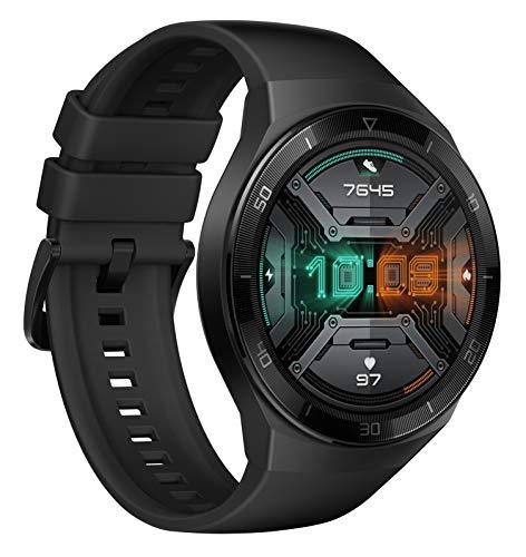 HUAWEI Watch GT 2e Smartwatch (SpO2-Monitoring,Herzfrequenz-Messung,Musik Wiedergabe,GPS,Fitness Tracker,5ATM wasserdicht) graphite black - 2