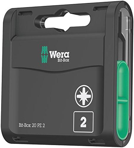 Wera 05057760001 Bit-Box 20 PZ 2 (Pack of 20)