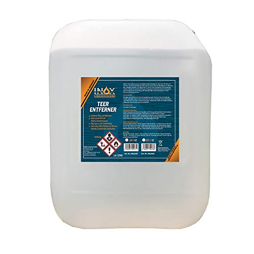 INOX® Teerentferner, 10L - Klebstoffentferner für Auto, Wohnmobil und Campingwagen