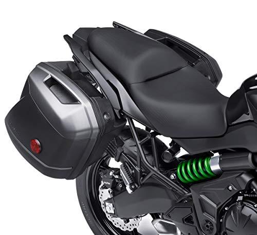Kawasaki 99994-0422-51A Metallic Carbon Grey 28 L Hard Saddlebag Panel Set