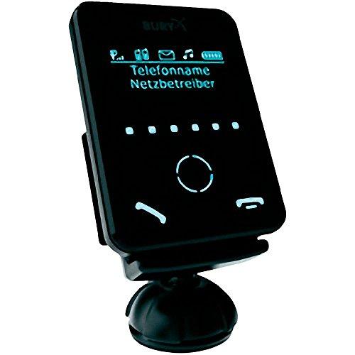 Bury CC 9058 Bluetooth-Freisprecheinrichtung mit Display und Akkuladefunktion - Für iPhone 4 / Samsung Galaxy S3