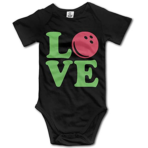ZMYGH Bowling Love Ball Newborn Baby Boys Clothing Short Sleeve Infant Bodysuit Onesies